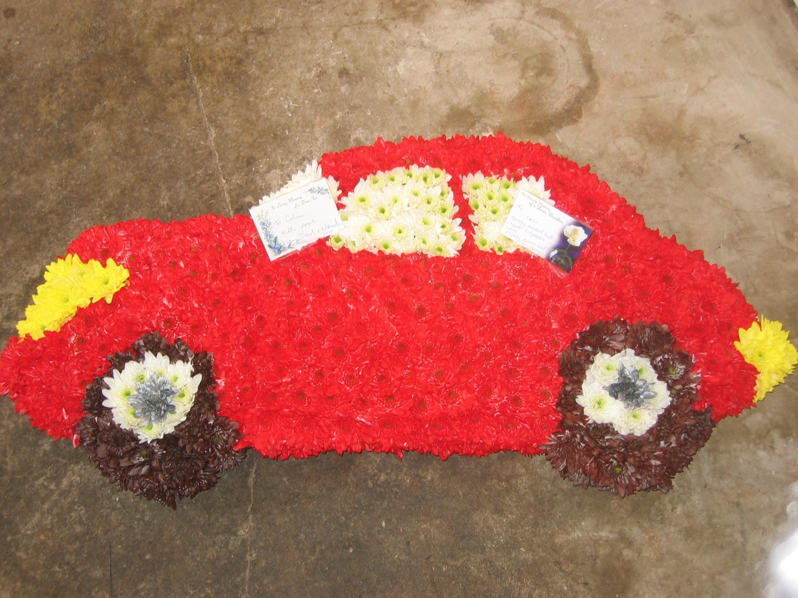 Car funeral flowers choice image flower wallpaper hd funerals funeral tribute price list izmirmasajfo izmirmasajfo